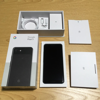 ANDROID - pixel3 black 64GB simロック解除済