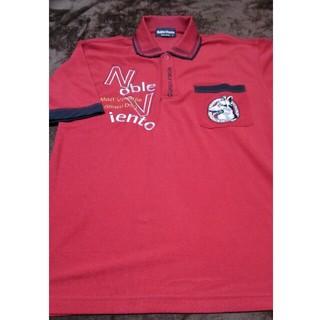 Noble Viento 犬柄刺繍ポロシャツ  M タグなし未使用