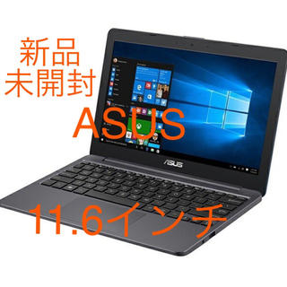 ASUS - ASUS  スターグレー ノートパソコン 11.6型ワイド液晶 eMMC32GB