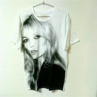 ZARA - 【送料無料】人気デザイン ガールズ フォト Tシャツ 半袖 トップス ホワイト