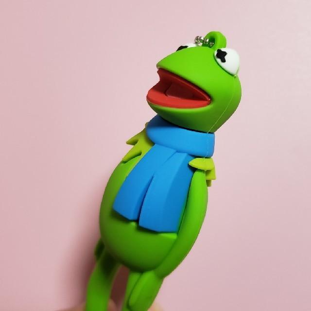 SESAME STREET(セサミストリート)の新品✨ カーミット ボールチェーン キーホルダー エンタメ/ホビーのおもちゃ/ぬいぐるみ(キャラクターグッズ)の商品写真