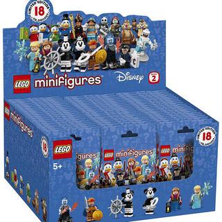 Lego - 60個入り 1箱 ディズニー ミニフィギュア