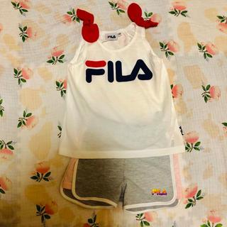 フィラ(FILA)のやーたんたん様専用☆FILA肩リボン(Tシャツ)