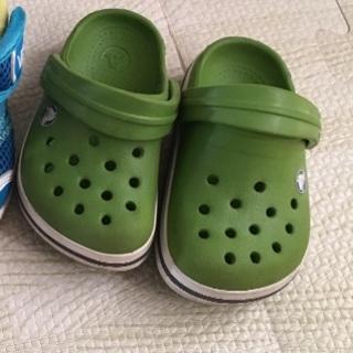 クロックス(crocs)のクロックス 4・5  13cm(サンダル)