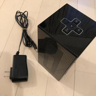 ヤマハ(ヤマハ)のヤマハYAMAHAスピーカー nx-a02 ブラック黒 コンパクト(スピーカー)