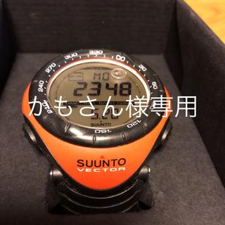 スント(SUUNTO)のSUUNTO VECTOR オレンジ(腕時計(デジタル))