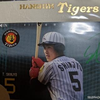 ハンシンタイガース(阪神タイガース)の新庄剛志テレカ(スポーツ選手)