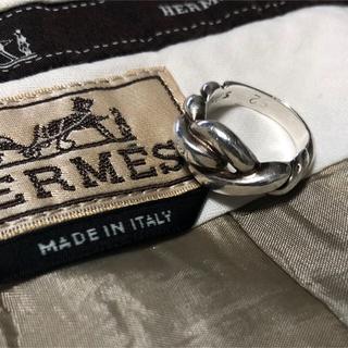 エルメス(Hermes)のHERMES vintage シルバーリング 9号 (リング(指輪))