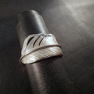 """Feather""""フェザー""""リング Silver925 (リング(指輪))"""