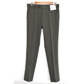 UNIQLO - 新品 ユニクロ 感動パンツ 85×85 ウールライク グレー スラックス メンズ