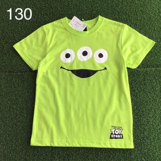 リトル・グリーン・メン - ★【 110 】トイストーリー リトルグリーンメン フェイス Tシャツ 緑