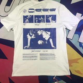 オフホワイト(OFF-WHITE)のOFF WHITE Tシャツ 半袖 メンズ レディース(Tシャツ/カットソー(半袖/袖なし))