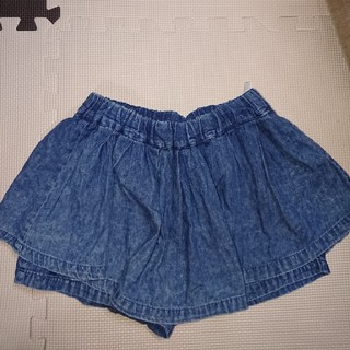 120センチ。ショートパンツつきスカート