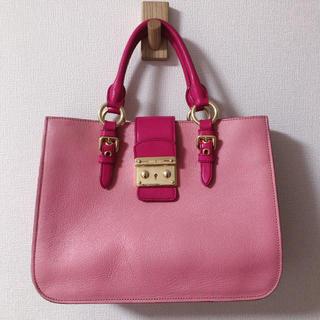 miumiu - 定価約20万♡超美品miumiuトートバッグ
