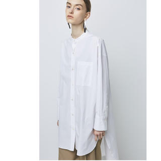 IENA - 新品♡ノーク 完売 スタンドカラーロングシャツ ワンピース