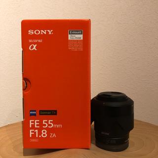 SONY - SONY  SEL55F18Z. FE 55mm F1.8 ZA 美品