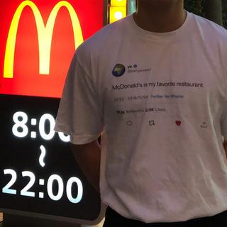 アディダス(adidas)のkanye west Tシャツ(Tシャツ/カットソー(半袖/袖なし))