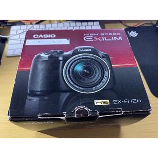 カシオ(CASIO)のCASIO EXILIM EX-FH25 ハイスピード カメラ(コンパクトデジタルカメラ)