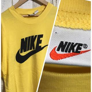 NIKE - レア アメカジ 90.s 白タグ NIKE スウォッシュ Tシャツ 美品