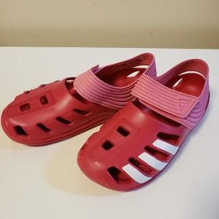 アディダス(adidas)の新品★23㎝★アディダス adidas キッズ&ジュニア★ビーチ サンダル(サンダル)