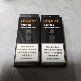 アスパイア(aspire)のaspire NAUTILUS 1.8Ω コイル5個パック 2箱セット(タバコグッズ)