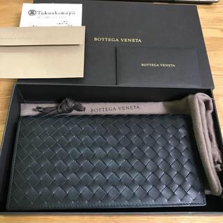 ボッテガヴェネタ(Bottega Veneta)のBOTTEGA VENETA イントレチャート コンチネンタルウォレット(スニーカー)