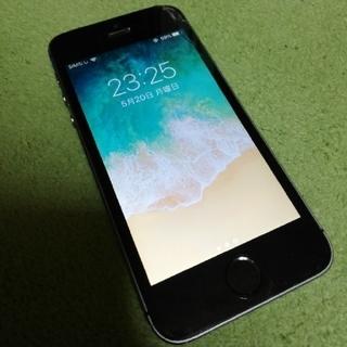 アイフォーン(iPhone)のiPhone5s Space Gray 16GB au(スマートフォン本体)