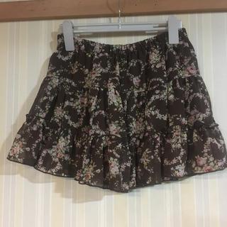 リズリサ(LIZ LISA)のリズリサ  花柄スカート(ミニスカート)
