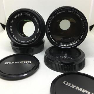 OLYMPUS - OLYMPUS 50mm F1.8と75-150mm F4のセットです