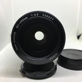 ニコン(Nikon)のNIKON ZOOM-NIKKOR 80-200 難有り品オマケテレコン2個付き(レンズ(ズーム))