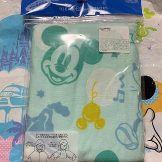 Disney - フード付きガーゼタオル