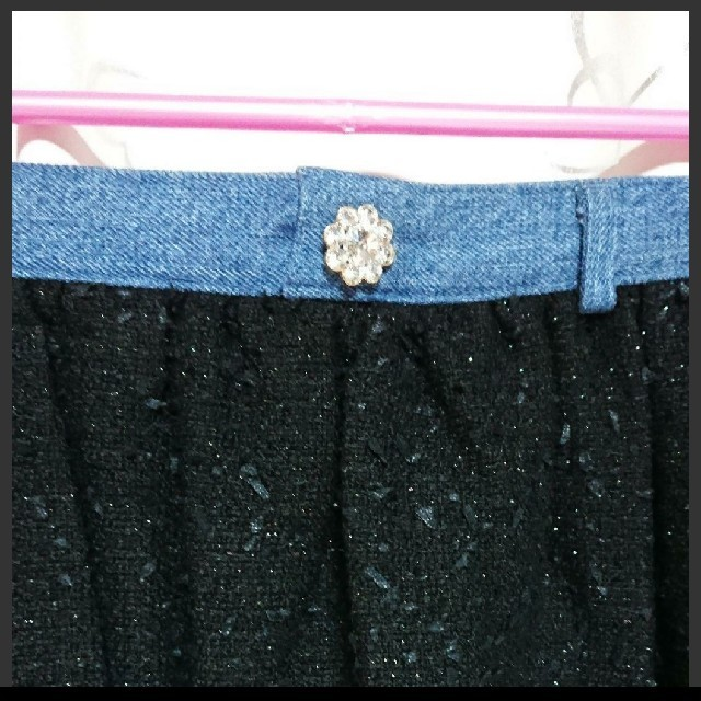 Nina mew(ニーナミュウ)の【美品】ニーナミュウ ツイードスカート レディースのスカート(ミニスカート)の商品写真