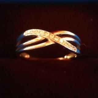 ティファニー(Tiffany & Co.)のダブルインフィニティリング16号✧*。(リング(指輪))