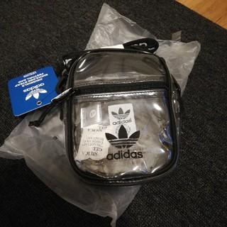 adidas - 【海外限定】adidas スケルトン ショルダーバッグ