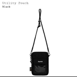 シュプリーム(Supreme)のSUPREME Utility Pouch 新品・未使用 ブラック(ショルダーバッグ)