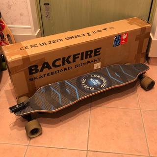 【最安値!】BACKFIRE 2G 電動スケートボード 電動スケボー