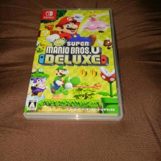 Nintendo Switch - マリオブラザーズ New Super Mario Bros.U DeluxE