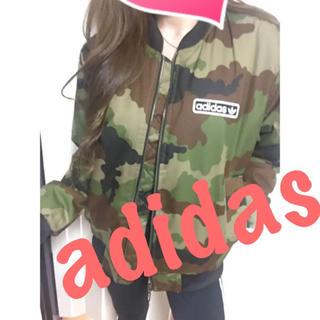 adidas - アディダスオリジナルス♡メンズ♡カモフラ柄ブルゾン♡MA-1♡