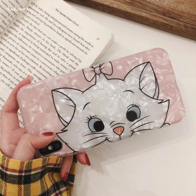 グッチ iphonexs ケース 財布 、 Disney - ディズニー マリーちゃん iPhone XR 用 ケース シェル ピンク の通販 by love2pinky's shop|ディズニーならラクマ