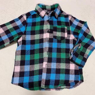 コムサイズム(COMME CA ISM)のチェックシャツ(ブラウス)