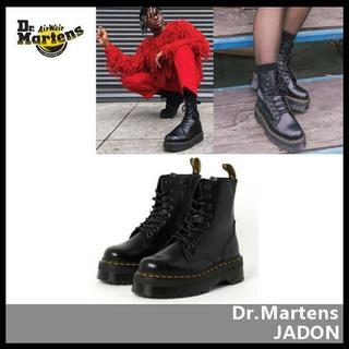 ドクターマーチン(Dr.Martens)の【Dr.Martens】JADON 厚底 ブーツ POLISHED SMOOTH(ブーツ)