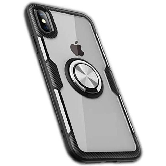 i Phone XR  ケース リングつきの通販 by 何でもショッピング|ラクマ