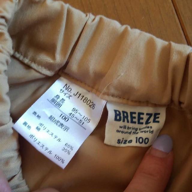 BREEZE(ブリーズ)のBREEZE プリーツスカート 100 キッズ/ベビー/マタニティのキッズ服 女の子用(90cm~)(スカート)の商品写真
