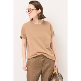 DEUXIEME CLASSE - 新品 Deuxieme Classe EVERYDAY Tシャツ ブラウンC
