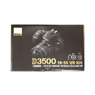 Nikon - 新品 D3500 18-55 VR レンズキット