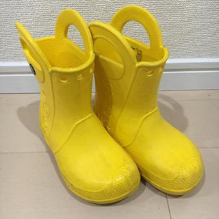クロックス(crocs)のクロックス レインブーツ  C8(15.5)(長靴/レインシューズ)