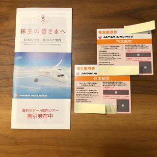 JAL(日本航空) - 最新版!JAL株主優待券