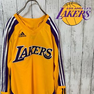 アディダス(adidas)のNBA アディダス レイカーズ ユニフォーム ゲームシャツ(バスケットボール)