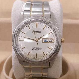 SEIKO - SEIKO PERPETUAL CALENDAR  腕時計