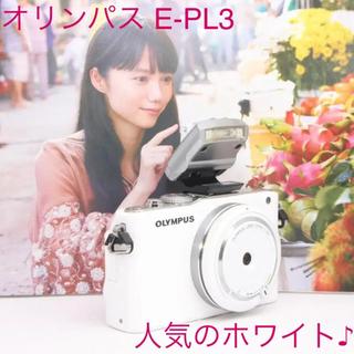 OLYMPUS - ❤️ミラーレスデビューに❤️オリンパス PL3❤️新品レンズとSDカード付き❤️